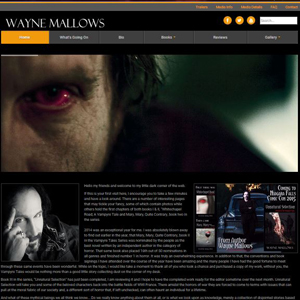 Wayne Mallows - Website Design