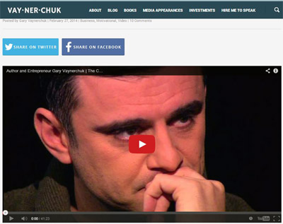 Gary Vaynerchuk Interview - The Cain